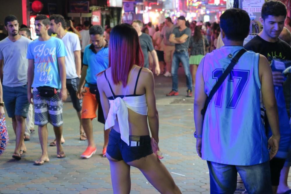 Pattaya Walking Street – after midnight