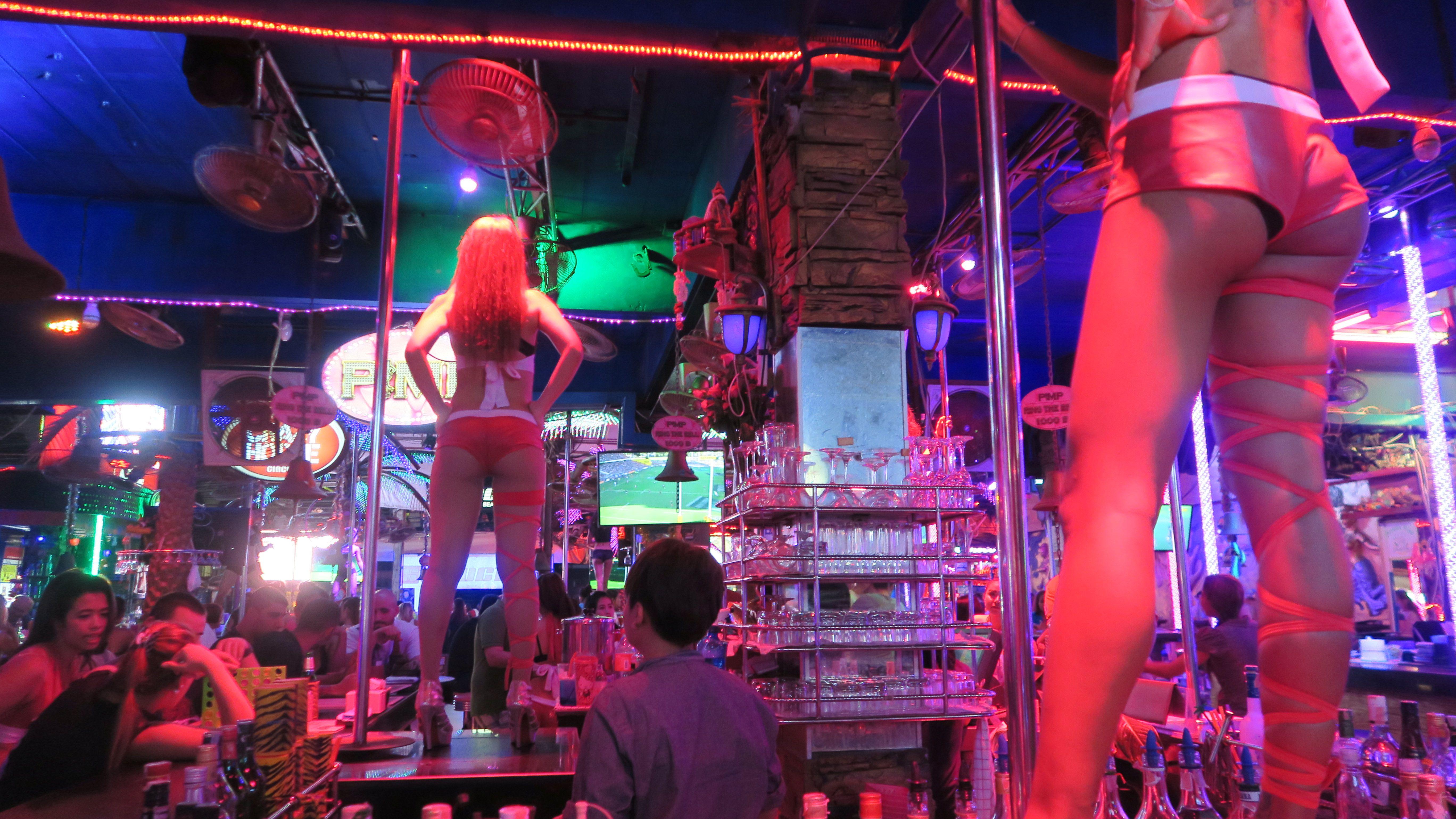 Cabaret club dancing girls sex voyeur - 1 8